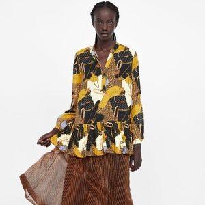 Zara top / blouse